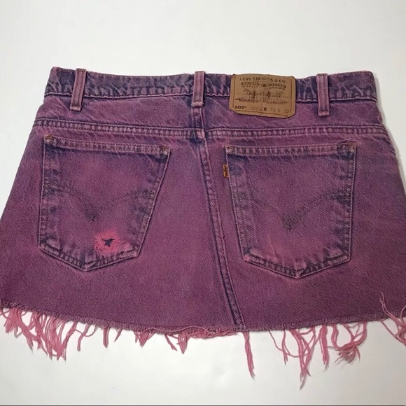 55dab28fdd Levi's Skirts | Levis Denim Jean Skirt 505 Urban Outfitters 325 ...